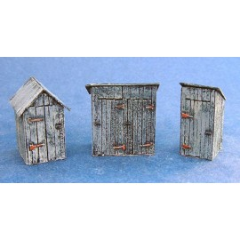 Outhouses pack 1 (Ready painted)