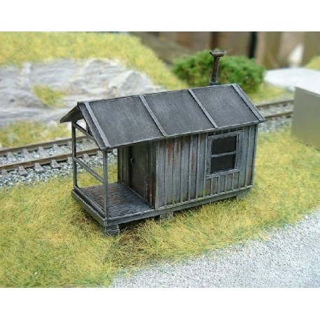 Small Shack (Built & painted)