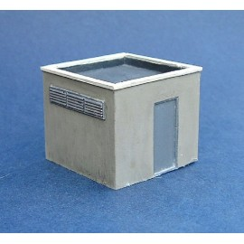 Roof block house (Unpainted)