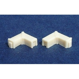 Ducts 90 elbows (Pack of 4)