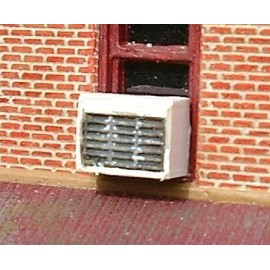 A/C unit - Domestic large painted (Pack of 4)