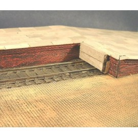 Platform Edging - brick (Pack of 2 pieces)