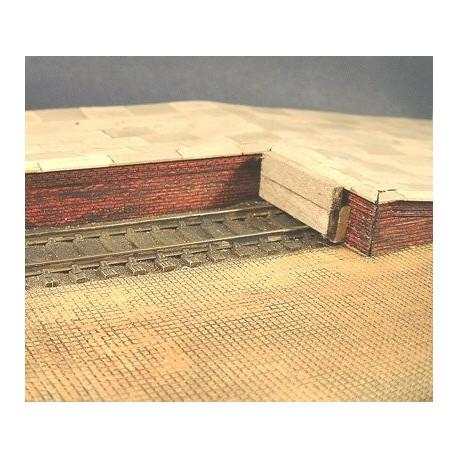 Platform Edging - brick (Pack of 2 pieces)