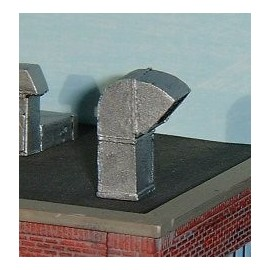 Roof vent 2 (Pack of 3 - painted)
