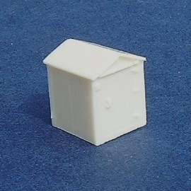 Battery house 1 - Unpainted (Pack of 2)