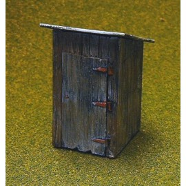 Outhouse 1 (Assembled and painted)