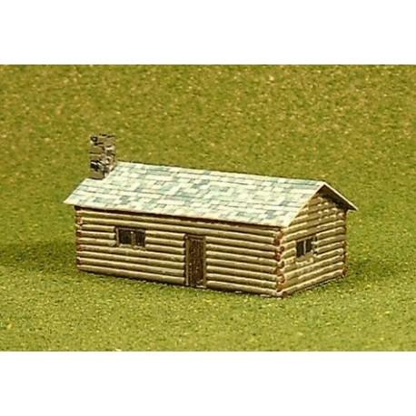 Log cabin 1 (Kit - unpainted)