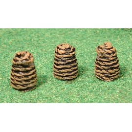 Beehives - Skeps (Ready painted)