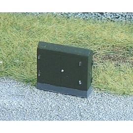 Telephone/relay cabinet 1 (2 per pack - ready painted)