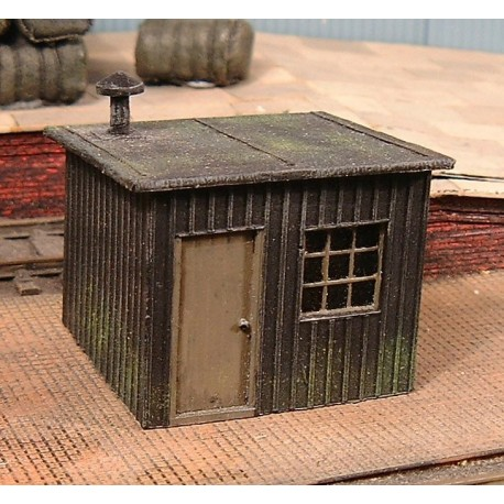 Lineside hut 2 (Painted)