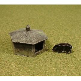 Pig hut 1