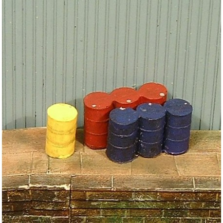 Oil drums (Painted)
