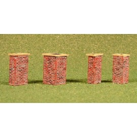 Chimneys pack 1 (Ready painted)