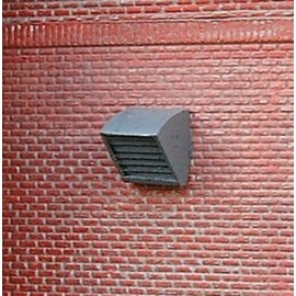 Louvered vent 2 (Pack of 4 - ready painted)