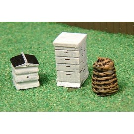Beehives pack 1 (Ready painted)