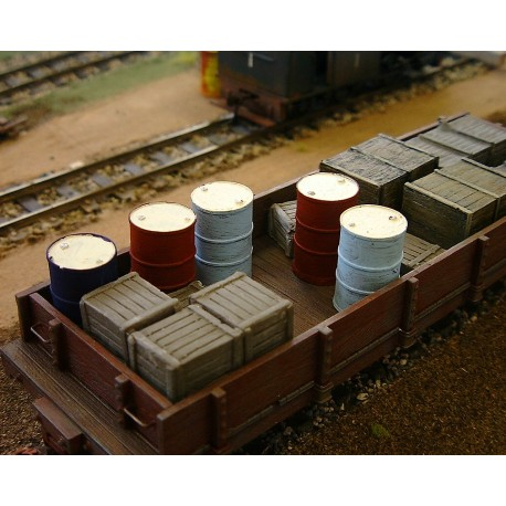 Oil drums (Painted)