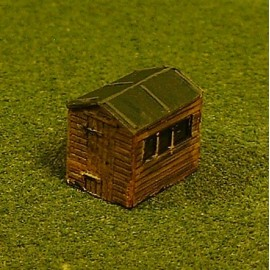 Garden shed 2 (Painted)