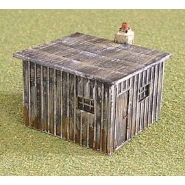 Lineside hut 1 (Painted)