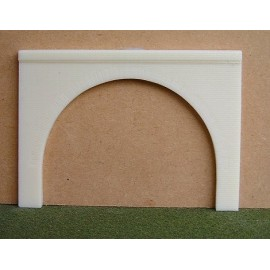 Retaining wall arch 1