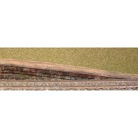 Platform Ramp R - stone