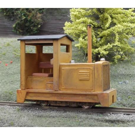O9 Diesel locomotive kit