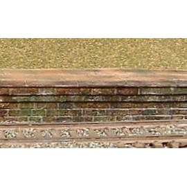 Platform Edge/Ramp - stone (Pack of 6 pieces)